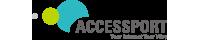 ACCESSPORT株式会社 ロゴ